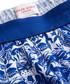 Blue cotton floral print boxers Sale - Derek Rose Sale