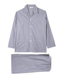 Grey pure cotton pyjama set