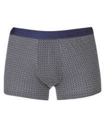 Navy cotton boxers