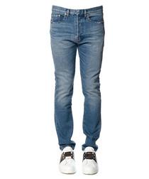 Rockstud blue cotton jeans