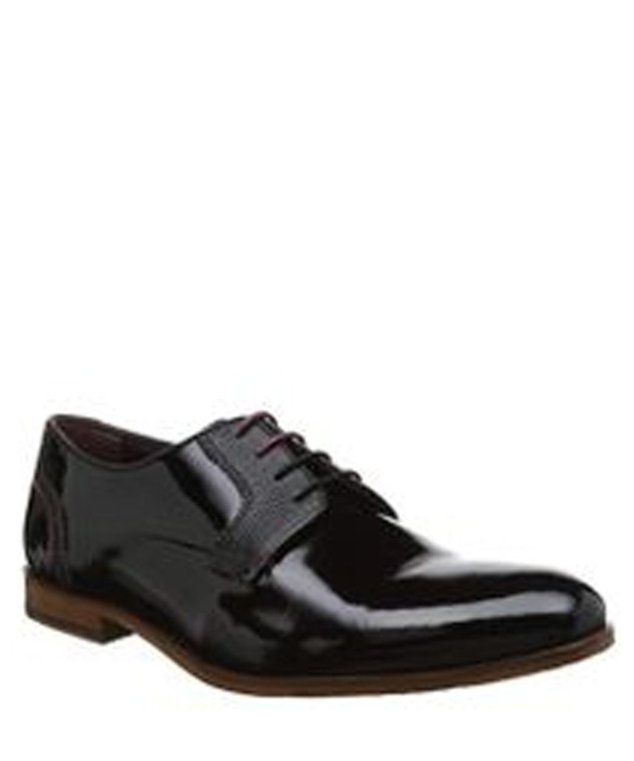 c730ee1e3 Black leather lace-up brogues Sale - Ted Baker