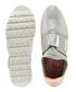 Grey metallic stripe slip-on sneakers Sale - ted baker Sale