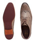 Grey leather & suede brogues Sale - Ted Baker Sale