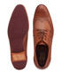 Tan leather perforated brogues Sale - ted baker Sale