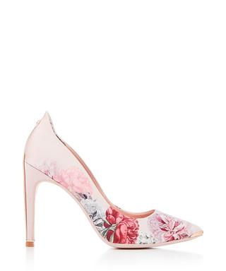 74574000c21e Pink satin floral print heels Sale - Ted Baker Sale