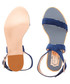Navy suede buckle sandals Sale - ted baker Sale