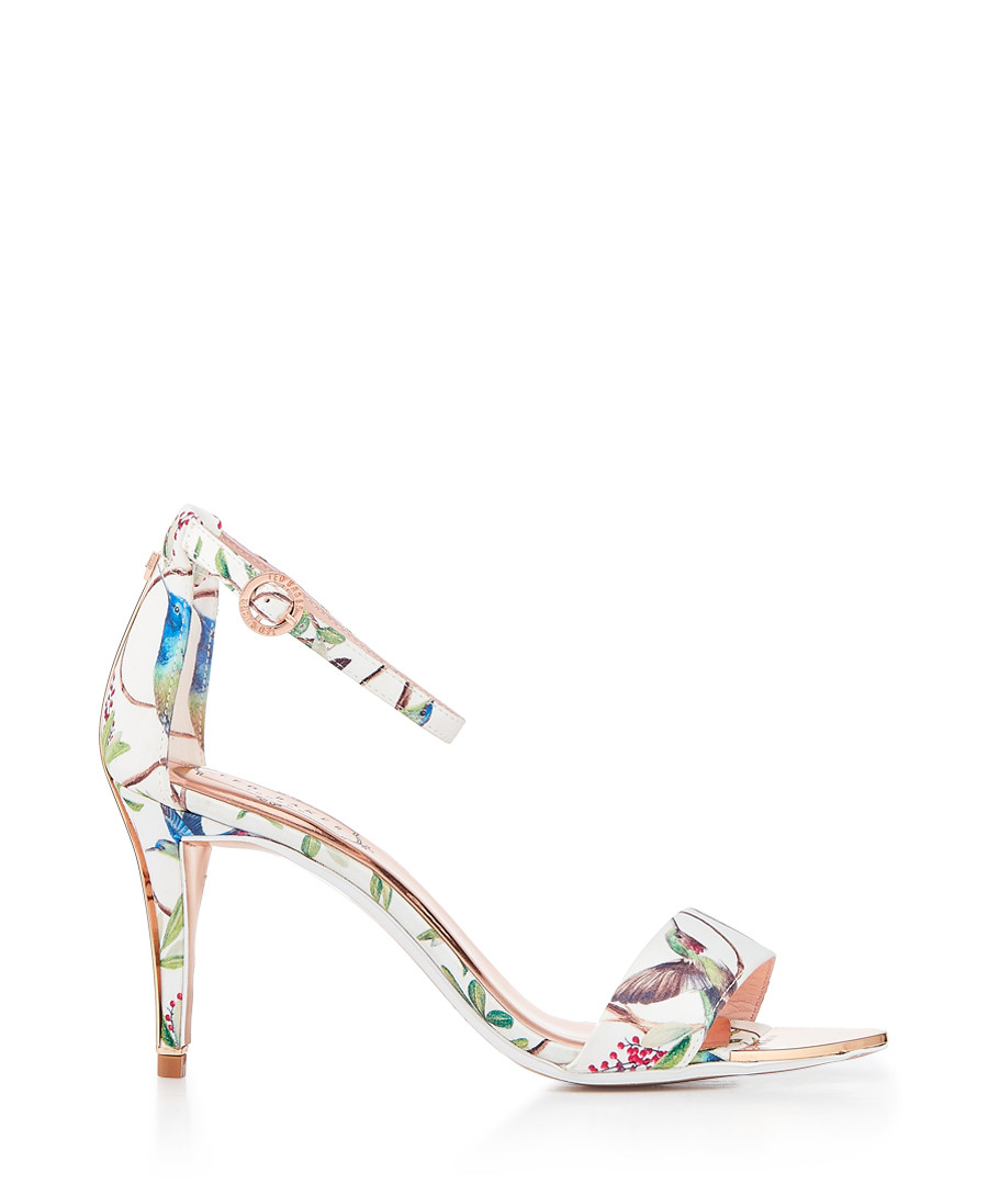 White floral print high heels Sale - ted baker