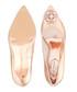 Rose gold leather embellished high heels Sale - ted baker Sale