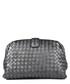 Black leather shoulder bag Sale - bottega veneta Sale