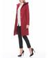 Red hood knee length coat Sale - dewberry Sale