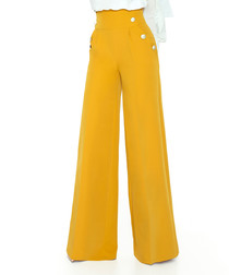 Honey wide-leg trousers