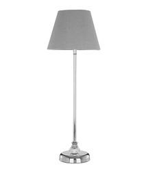 Uri grey table lamp