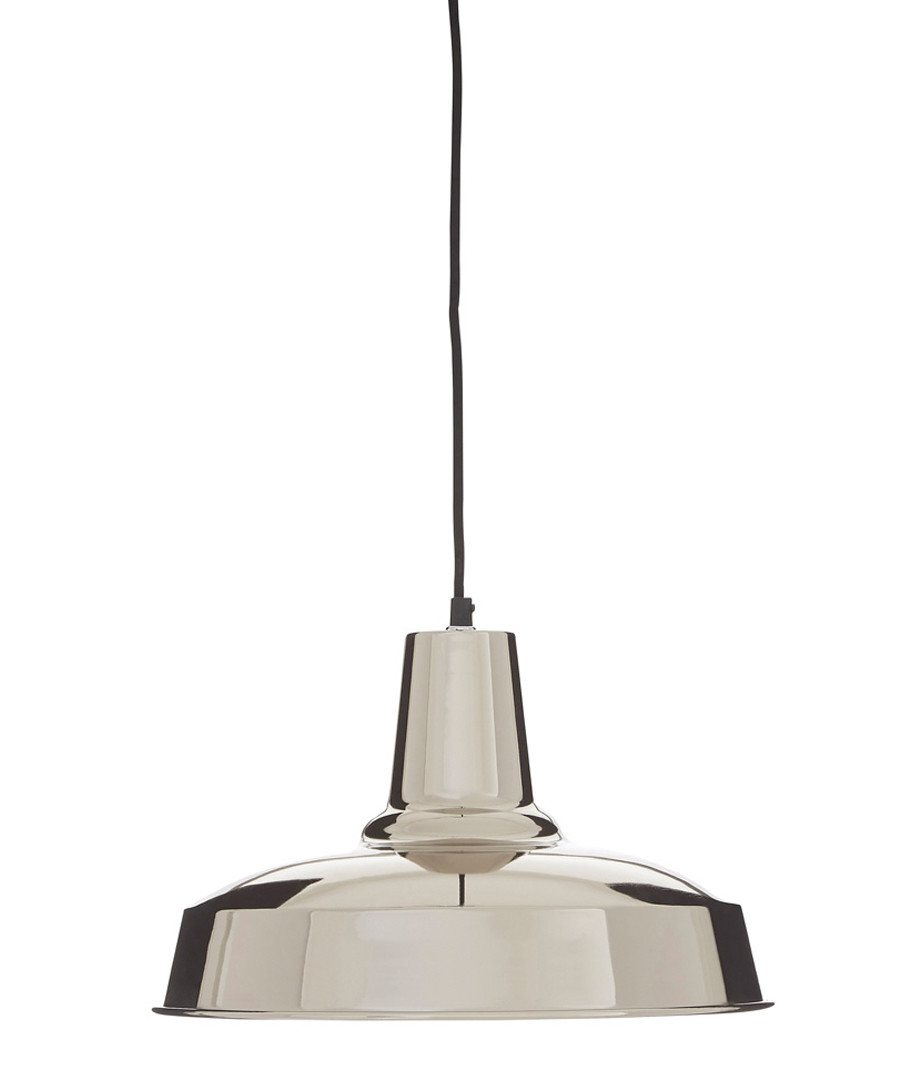 New Foundry silver pendant light Sale - premier