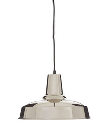 New Foundry silver pendant light