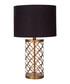 Lexis copper-tone lattice table lamp Sale - Premier Sale