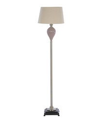 Ulalia natural shade floor lamp