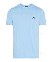 Blue pure cotton T-shirt