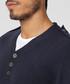 Men's blue cashmere & silk blend jumper Sale - william de faye Sale
