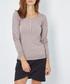 Desert cashmere long sleeve top Sale - william de faye Sale