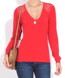 Hermes cashmere V-neck jumper