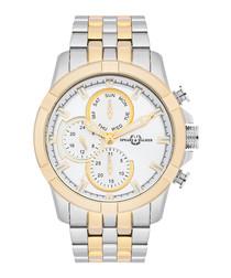 Pede Collato gold-tone watch