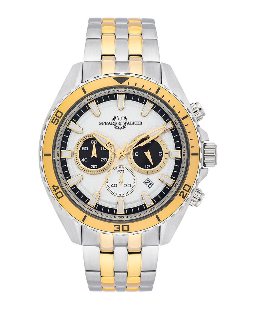 Bellator silver-tone & gold-tone watch Sale - spears & walker