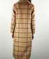 Camel & black cell wrap coat Sale - Enying Sale