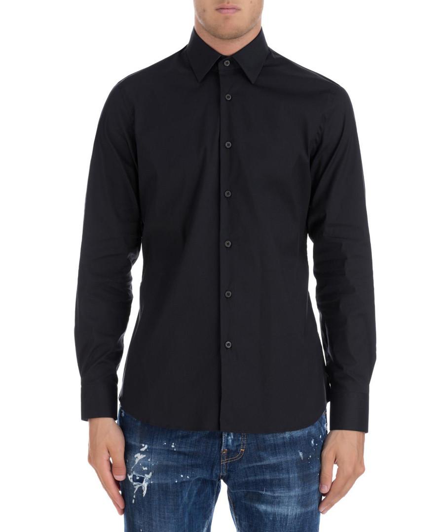 e1110fe3 Discount Men's black classic button shirt   SECRETSALES