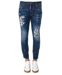 Men's denim cotton jeans