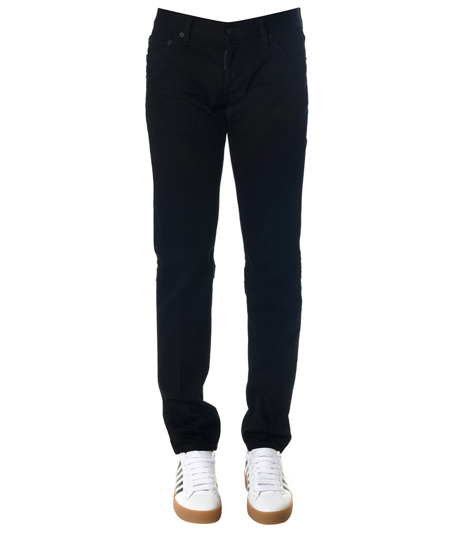 Men's black cotton jeans Sale - DSQUARED2