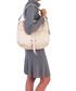 Viola beige leather shopper bag Sale - anna morellini Sale