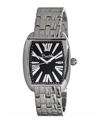 Anastasia stainless steel square watch