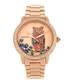 Madeline rose gold-tone steel owl watch Sale - bertha Sale