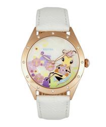Ericka rose gold-tone steel watch