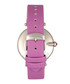 Trisha silver-tone & lilac leather watch Sale - bertha Sale