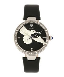 Nora black hummingbird watch