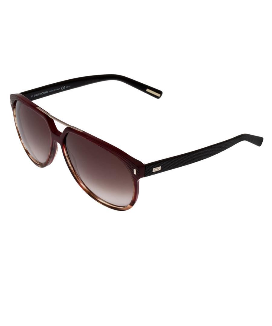 17ea1a4c2f20 Brown gradient crossbar sunglasses Sale - dior