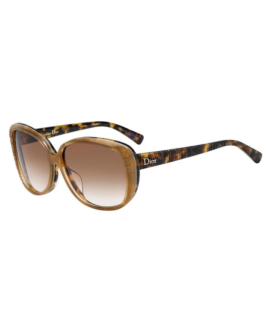 0875ead9ad30 Tortoiseshell   tan sunglasses Sale - Dior Sale