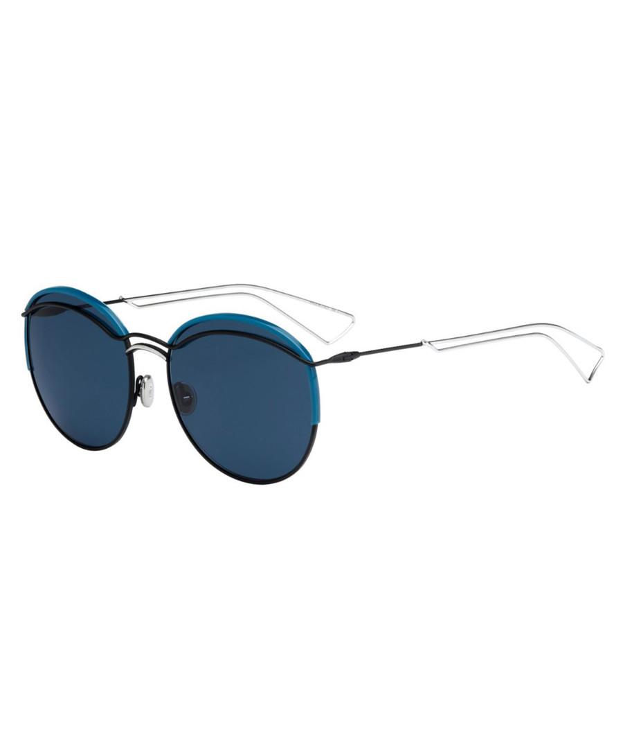 9f11e4a886e3 Blue   clear round sunglasses Sale - dior