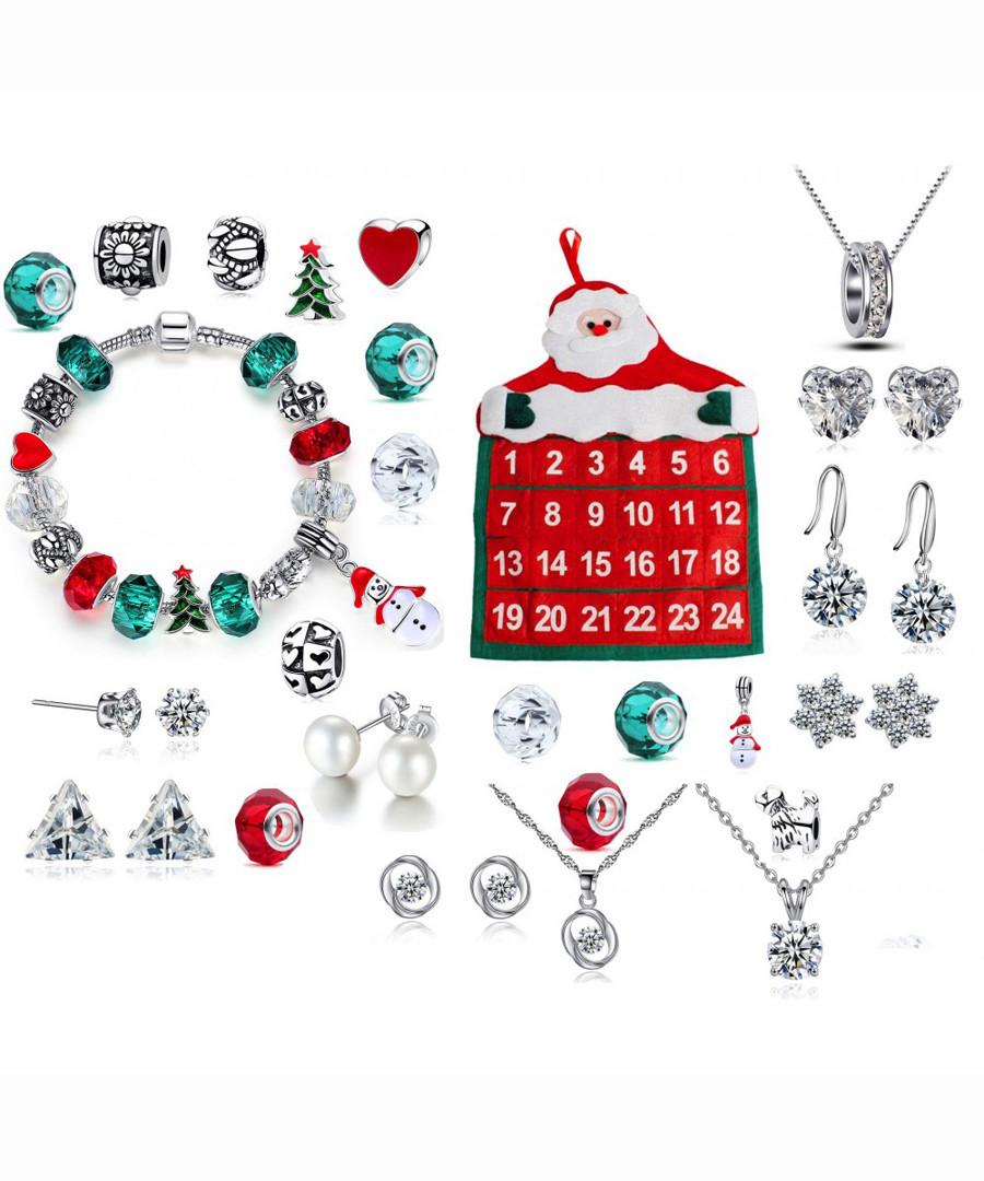 Jewellery advent calendar Sale - Clear Crystal