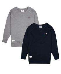 2pc grey & blue cotton sweatshirts