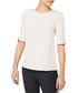 Flo cream pure silk short sleeve blouse Sale - goat Sale