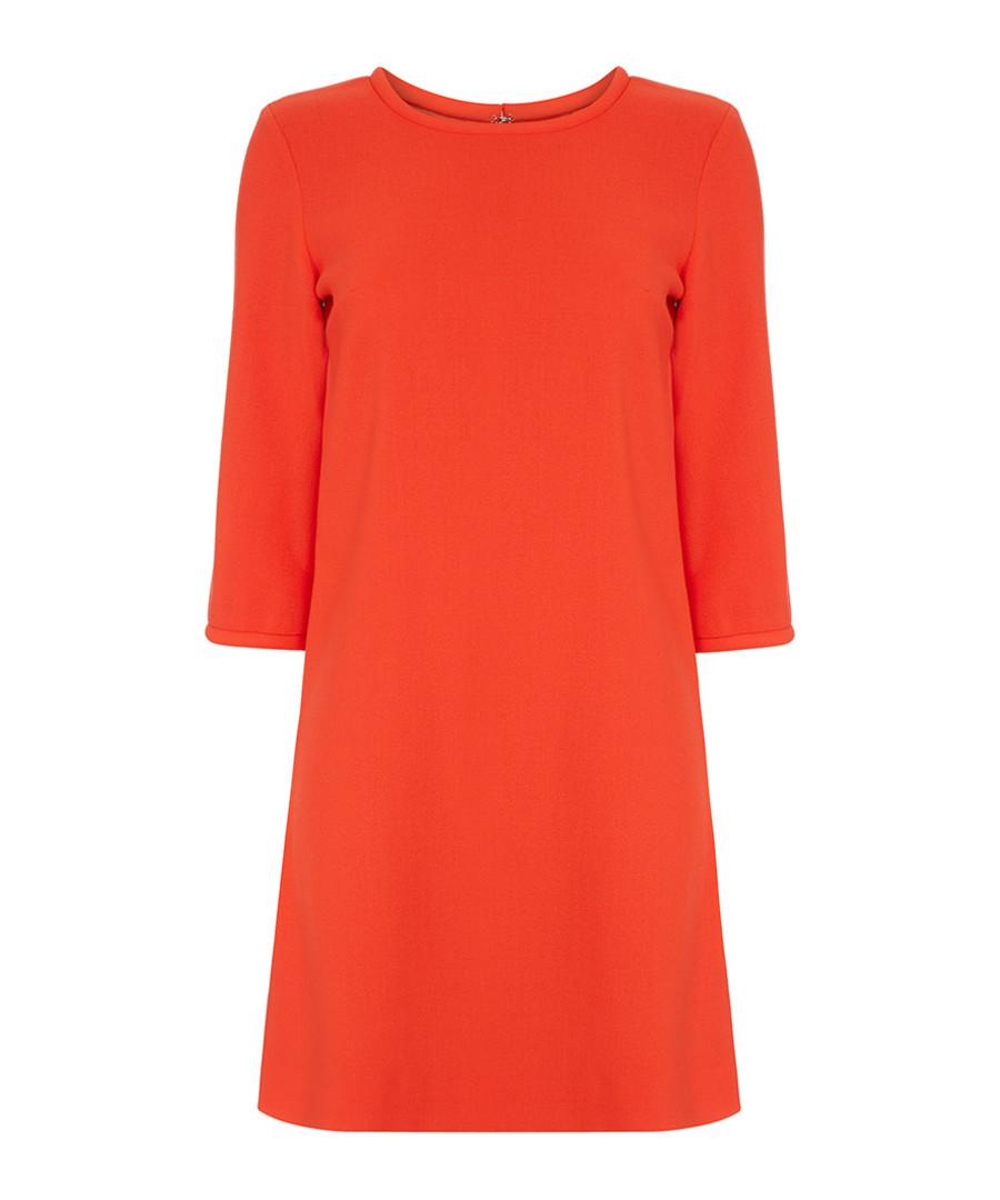Lola clementine pure wool crepe dress Sale - goat