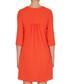 Lola clementine pure wool crepe dress Sale - goat Sale