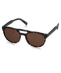 Men's Havana & brown crossbar sunglasses