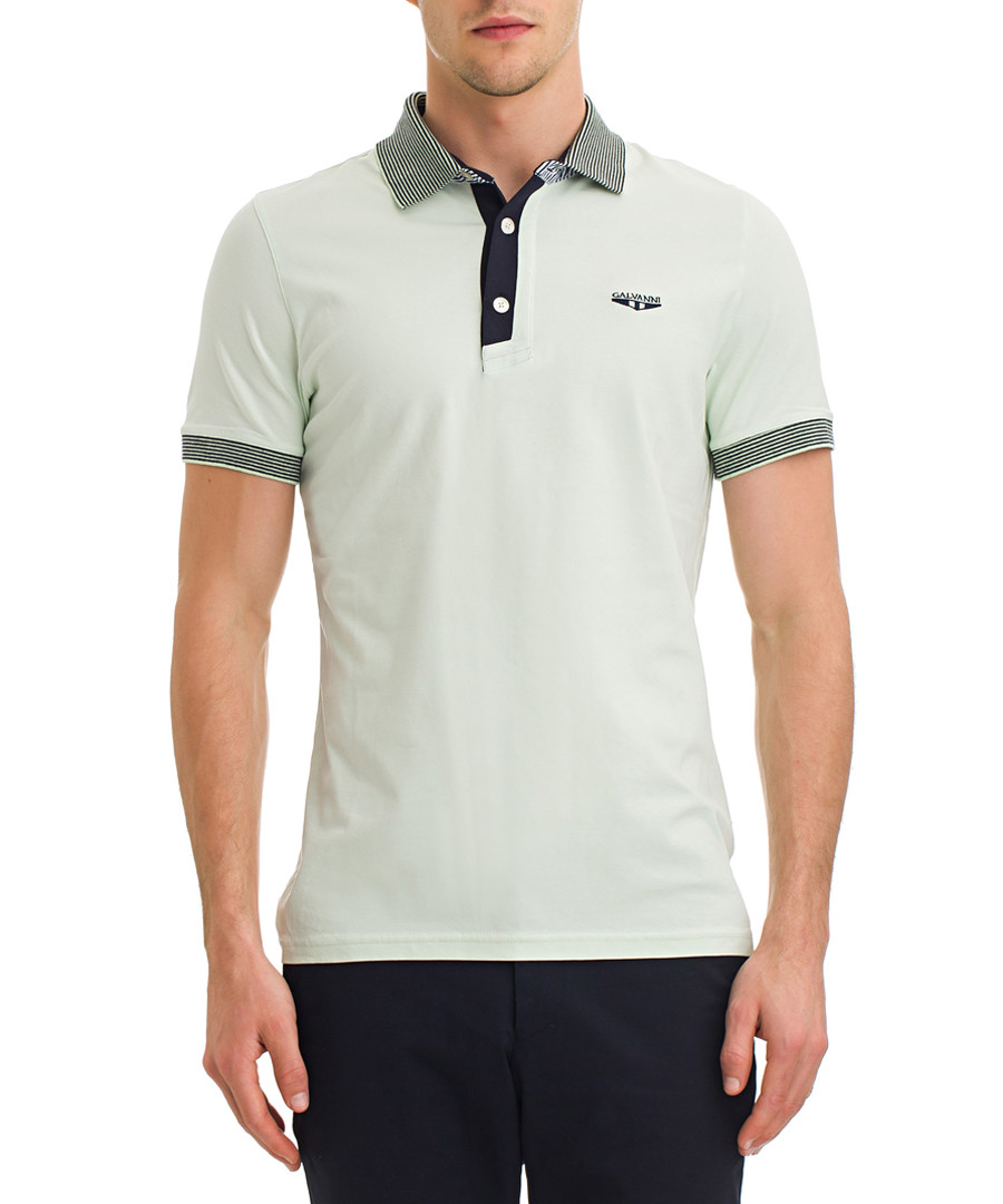 Ambrosia cotton polo top Sale - galvanni