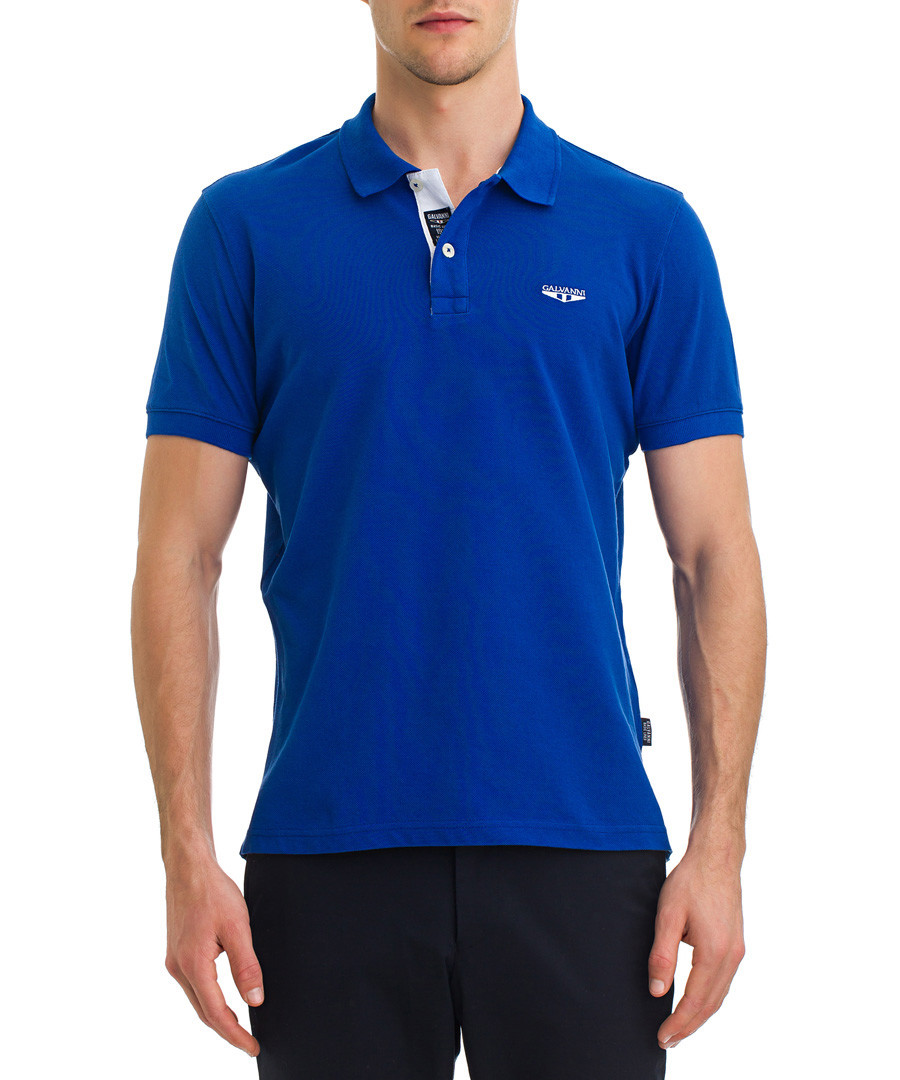 Turkish sea pure cotton polo shirt Sale - galvanni