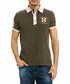 Olive night polo shirt Sale - galvanni Sale