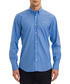 Light blue cotton blend shirt Sale - galvanni Sale