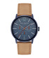 Navy & tan leather strap watch Sale - ted baker Sale